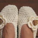 Adult Slippers Crochet Pattern PDF,..