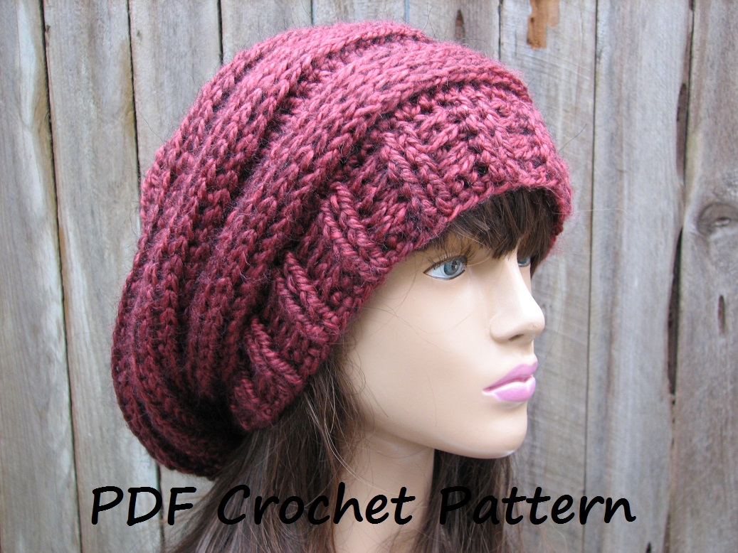 Crochet pattern crochet hat slouchy hat crochet pattern pdf crochet hat slouchy hat crochet pattern pdfeasy great for beginners pattern no 66 bankloansurffo Image collections