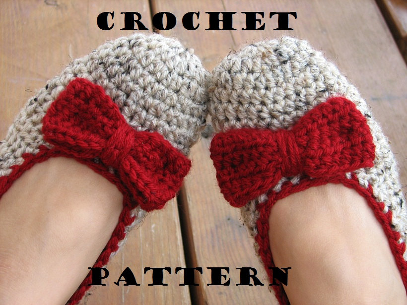 Adult Slippers Crochet Pattern PDF,Easy, Great for Beginners, Shoes Crochet Pattern Slippers, Pattern No. 12
