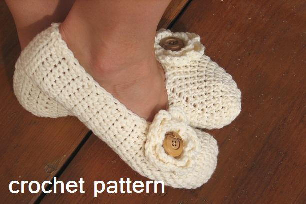 Adult Slippers Crochet Pattern PDF,Easy, Great for Beginners, Shoes Crochet Pattern Slippers, Pattern No. 19