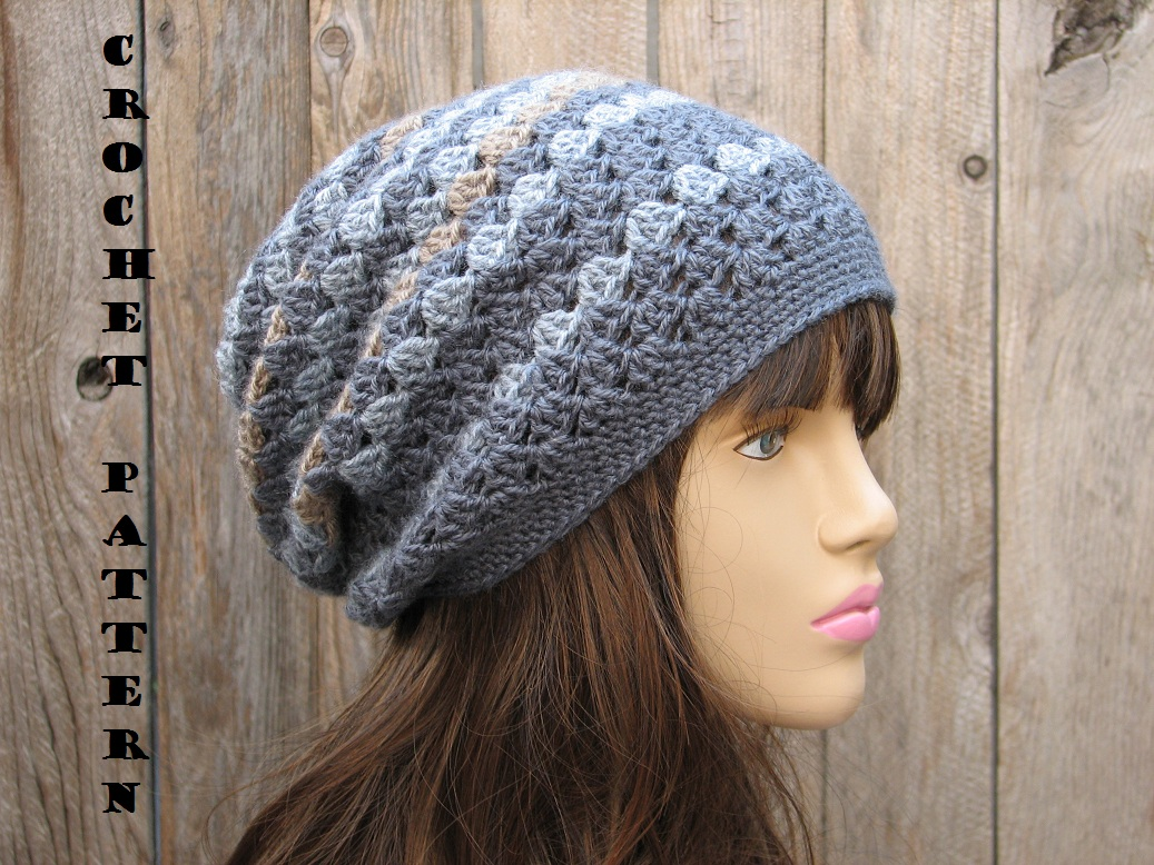 Slouch Hat Crochet Pattern Best Decoration